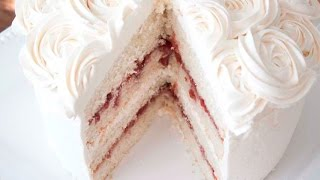 White Chocolate Raspberry Cake | RECIPES TO LEARN | EASY RECIPES | RECIPES TO LEARN | EASY RECIPES