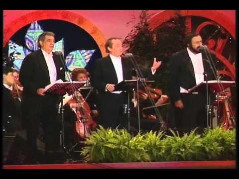 Luciano Pavarotti, Josè Carreras e Placido Domingo - 'O Sole mio