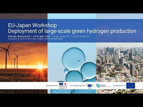 Deployment of large-scale green hydrogen production   EU-Japan Online Workshop   27th May 2021 (EN)