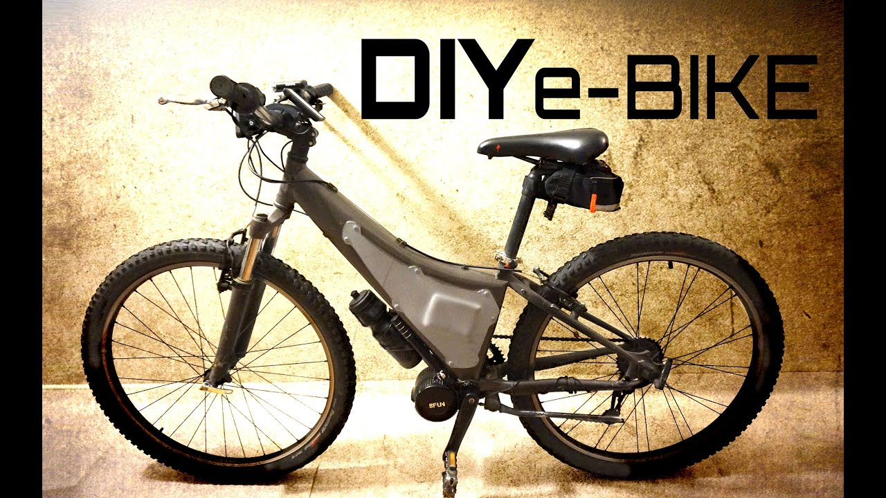 DIY Electric Mountain Bike - YouTube