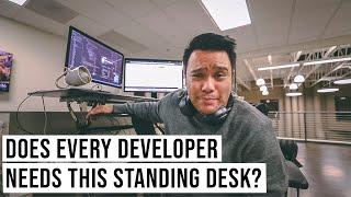 The ULTIMATE Standing Desk Every WEB DEVELOPER Needs | #devsLife