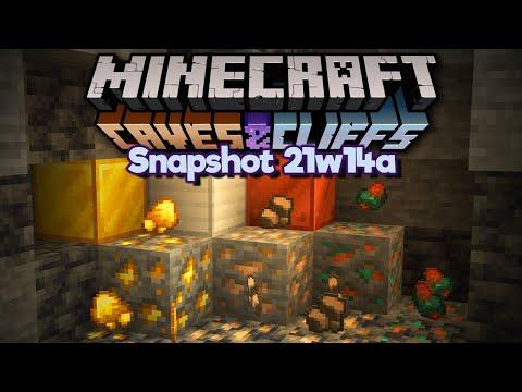 We can FORTUNE IRON Now?! ▫ Minecraft 1.17 Snapshot 21w14a ▫ Caves & Cliffs Update - Pixlriffs