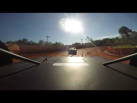 East Lincoln Speedway 2-4-19 Stock 4 Rear Cam Hot Laps Alexus Motes