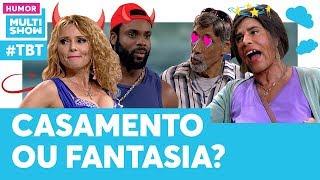 Fantasia SEXUAL salva o casamento de Graça e Moacir! | #TBT Tô de Graça | Humor Multishow