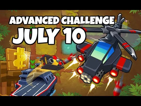 BTD6 Advanced Challenge R100 - To Pop Or Not To Pop - July 10 2019