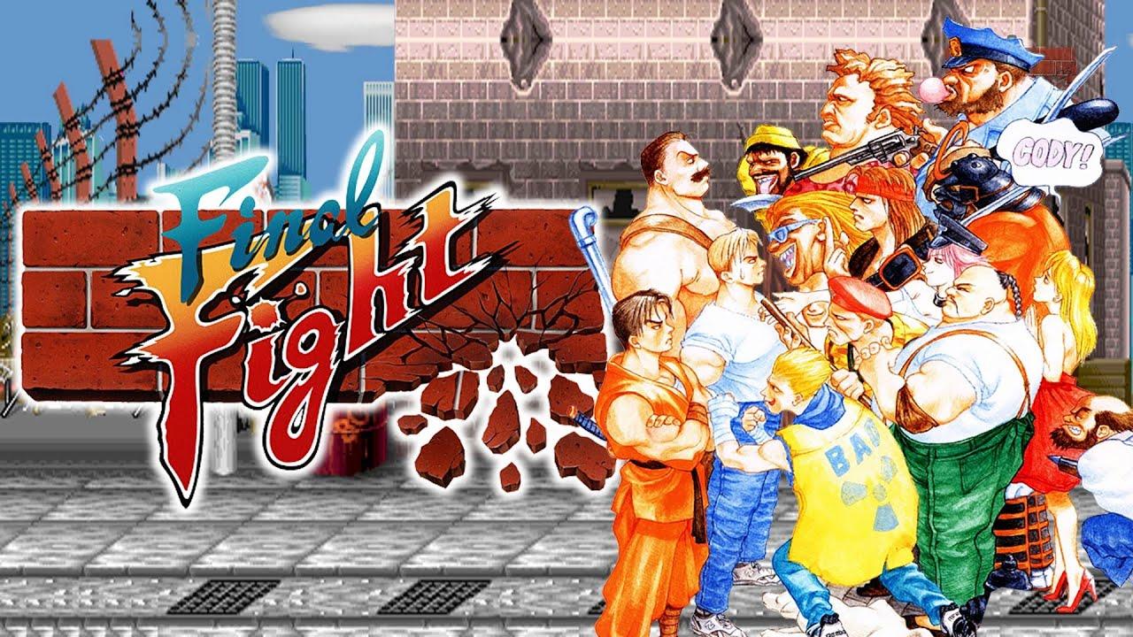 Final Fight Reventando Metro City