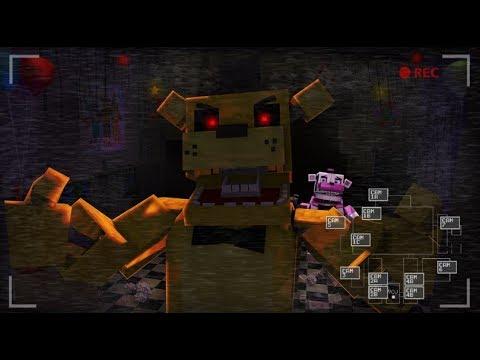 Minecraft FNAF- Golden Freddy's Jumpscare- Minecraft Roleplay