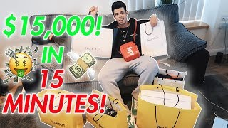 Spending $15,000 in 15 MINUTES!!! Shopping