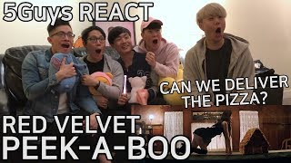 Video [THIRSTY FANBOYS] Red Velvet - Peek-A-Boo (5Guys MV REACT) download MP3, 3GP, MP4, WEBM, AVI, FLV April 2018