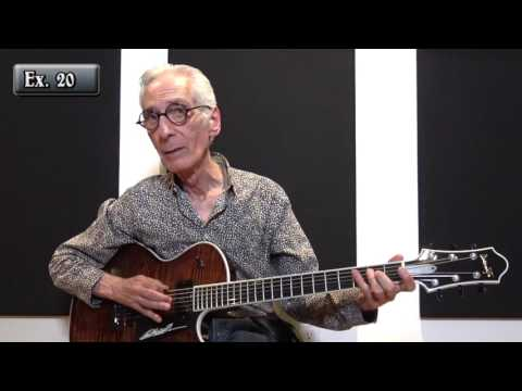 Pat Martino - Converting Chords to Minor 7 (Lesson Excerpt)
