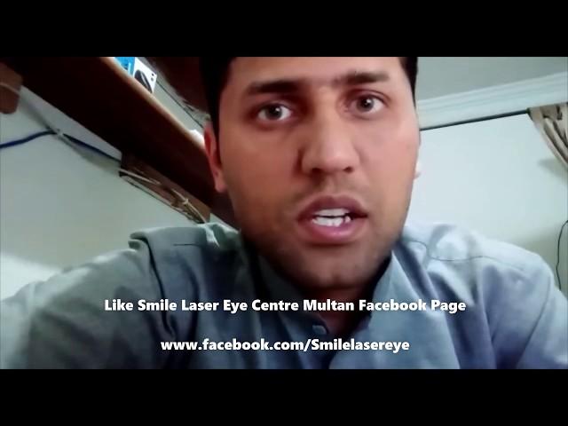TransPRK Review of Zia ur rahman at SMILE Laser Eye Centre Multan