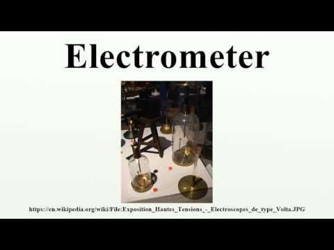 Electrometer