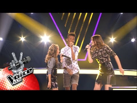 Evi, Kyle & Silvie - 'Shivers' | The Battles | The Voice Kids | VTM
