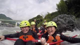 静岡富士川ラフティング フレンズ  Friends Rafting《短編動画RSM7-7》