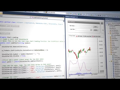 Trading Application with Complete C# and C++ Source Code by Modulus