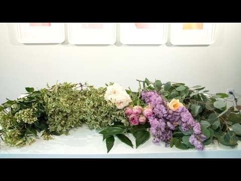 How to Create the Perfect Floral Garland