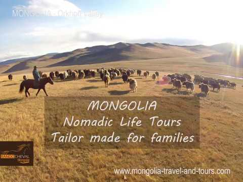 Drive a herd of yacks with the nomads - Equestrian Holidays by MONGOLIA TRAVEL & TOURS