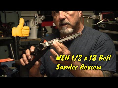 Wen 1/2 x 18 Belt Sander - Mini Belt Sander - Power File Review