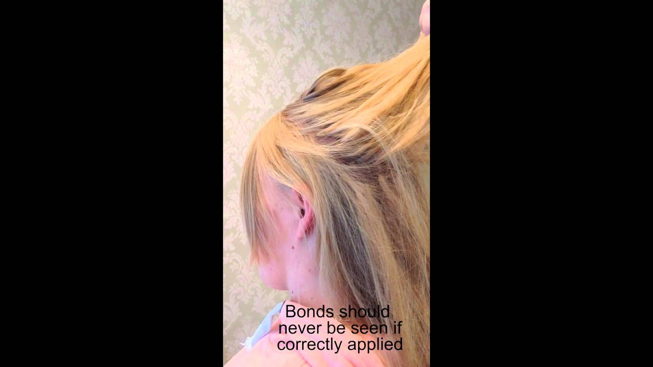 Undetectable Hair Extensions Youtube