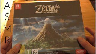 (ASMR) Zelda Link's Awakening Unboxing ??