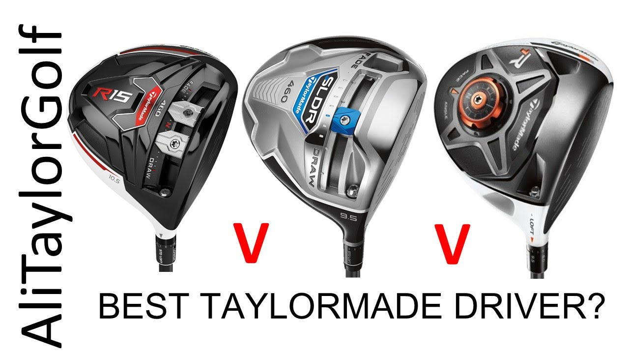 Taylormade R1 Driver >> TAYLORMADE R15 v SLDR v R1 DRIVERS - YouTube