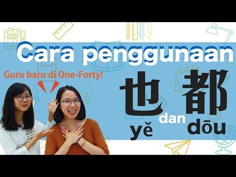 Belajar Bahasa Mandarin : Cara Penggunaan 『也』dan『都』