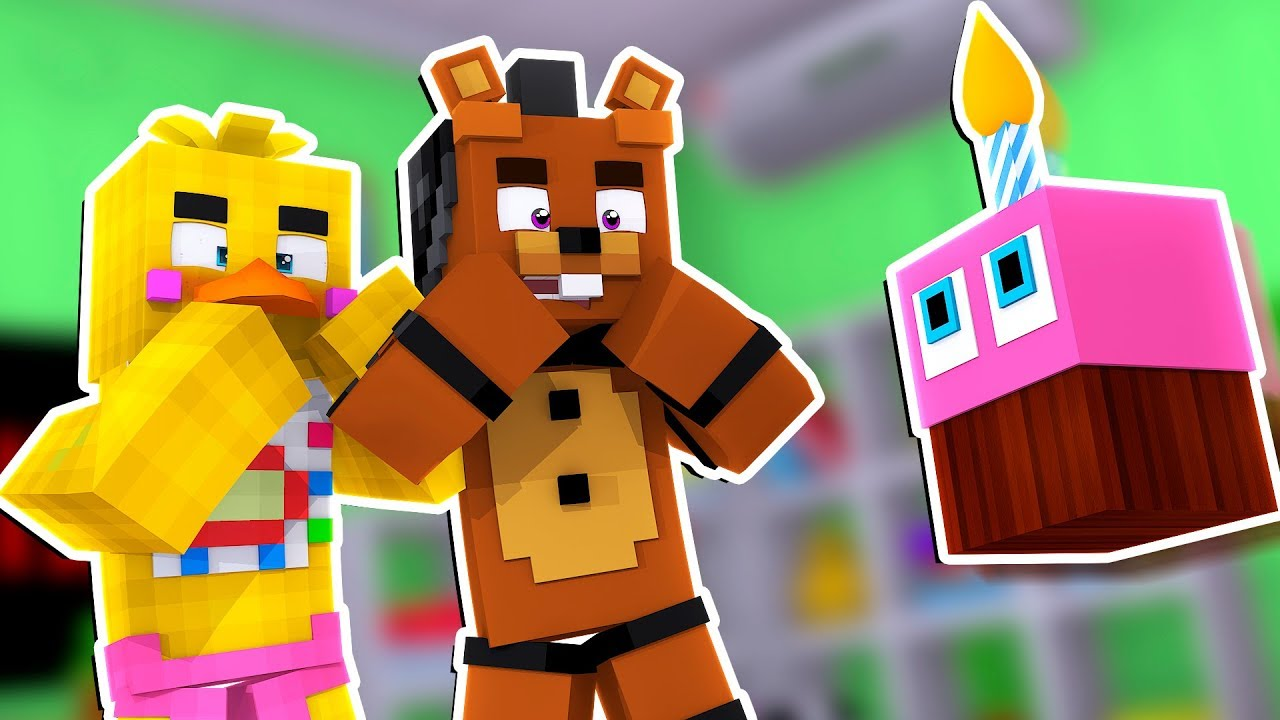 Cupcake Comes To Life! | Minecraft FNAF Roleplay