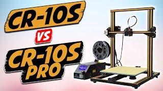 Creality CR-10s vs Creality CR-10s Pro 3D Printer Comparison