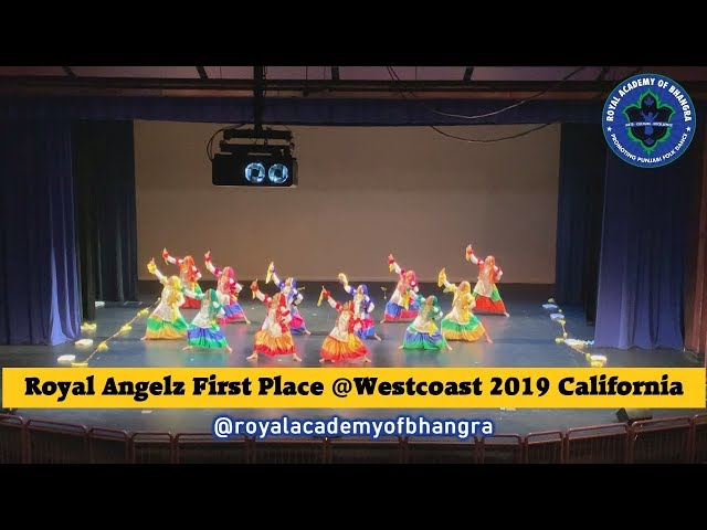 Royal Academy of Bhangra| WESTCOAST FIRST PLACE | Royal Angelz | 2019