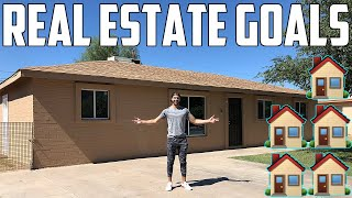 My Goal to $8,333/Month of Passive Income with Real Estate | My Real Estate Goals