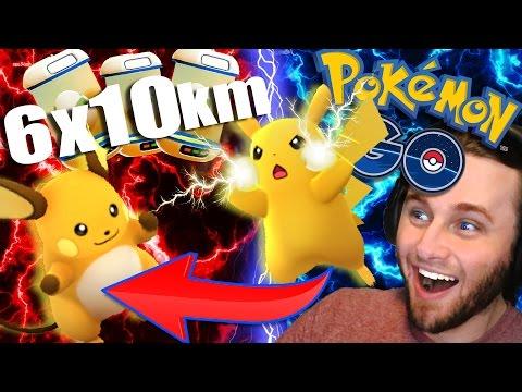 POKEMON GO - PIKACHU EVOLUTION!! | +6 x 10km Eggs!! [11]