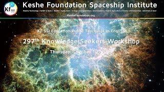297th Knowledge Seekers Workshop October 10, 2019