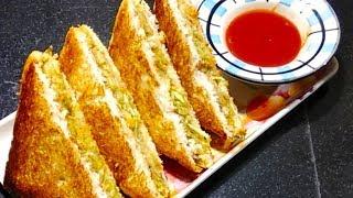 Easy Veg Sandwich || Kids special Sandwich recipe by Syreen's kitchen