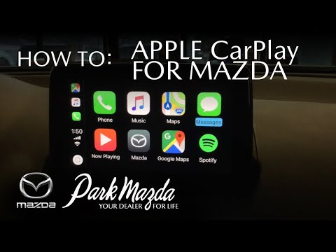 How To Use Apple Carplay 2019 Mazda Cx 3 Gt Park Mazda Youtube