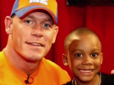 "John Cena grants a special Make-A-Wish on NBC ""Today"""