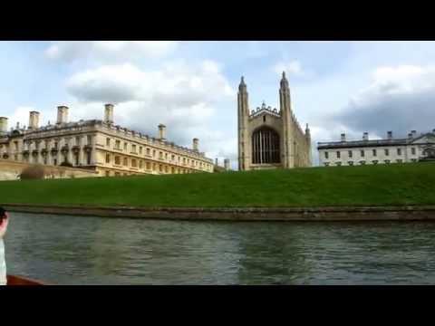 Cambridge Punt Boat Tour - England