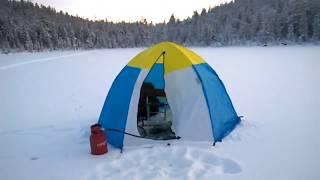 Первый лёд 2019-2020 рыбалка ловим Форель. Сезон открыт!