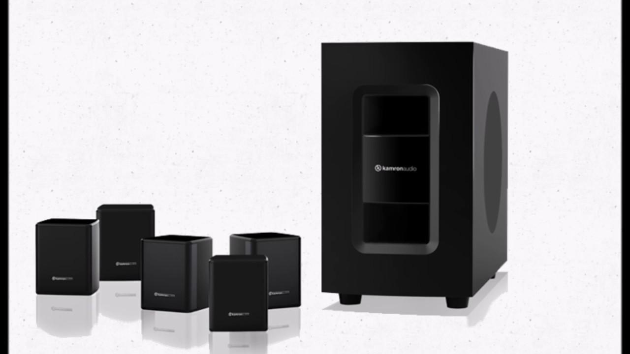 kamron audio speakers ka-14 - YouTube