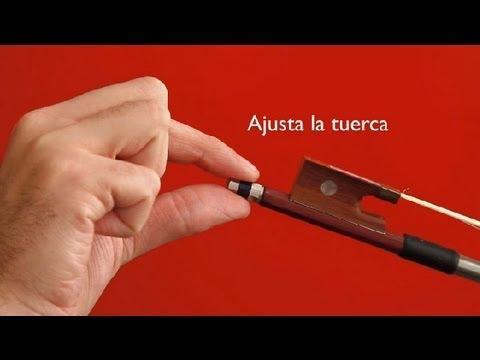 Cuál debe ser el grado de tensión de un arco de Violín : Nociones de violín