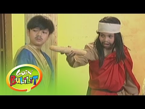 Goin' Bulilit: Judas' bread: In Tinapay Ni Hudas, a man tries to outsmart Jesus' 13th disciple.  Subscribe to ABS-CBN Entertainment channel! - http://bit.ly/ABS-CBNEntertainment  Watch the full episodes of Goin' Bulilit on TFC.TV   http://bit.ly/GoinBulilit-TFCTV and on IWANT.TV for Philippine viewers, click:  http://bit.ly/GoinBulilit-IWANTv  Visit our official website!  http://entertainment.abs-cbn.com/tv/shows/goinbulilit/main http://www.push.com.ph  Facebook: http://www.facebook.com/ABSCBNnetwork  Twitter:  https://twitter.com/ABSCBN https://twitter.com/abscbndotcom Instagram: http://instagram.com/abscbnonline