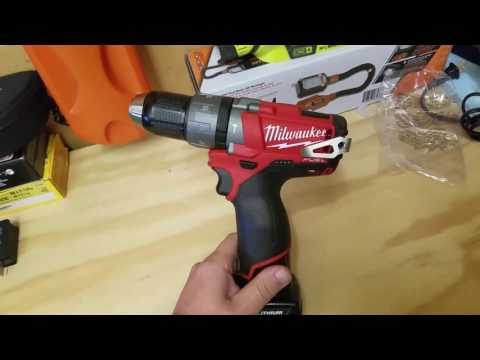 Milwaukee Fuel 12v Brushless Hammer Drill Review (2404)