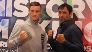 RICKY BURNS v MICHELLE DI ROCCO - OFFICIAL HEAD TO HEAD / HISTORY IN THE MAKING