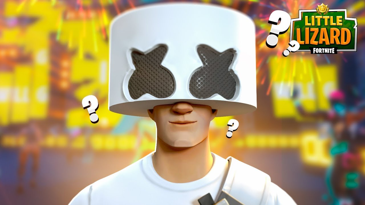 MARSHMELLO FACE REVEAL!!! - Fortnite Short Film - YouTube