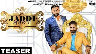 Jaddi Sardar (Teaser) Ajitt Sidhu   Releasing on 26th Feb   White Hill Music