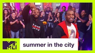 A AP Twelvyy Featuring A AP Ferg Perform Hop Out Summer In The City MTV