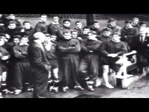MANCHESTER UNITED FC -SIR MATT BUSBY - THE BUSBY BABES