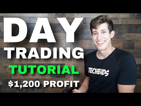 DAY TRADING TUTORIAL FOR $1,200 PROFIT thumbnail