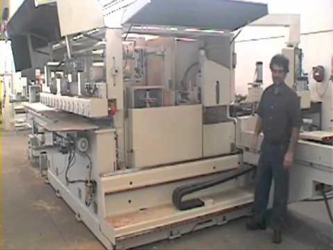 Macchine Per Lavorare Il Legno : Colombo am50 macchina per la lavorazione del legno youtube