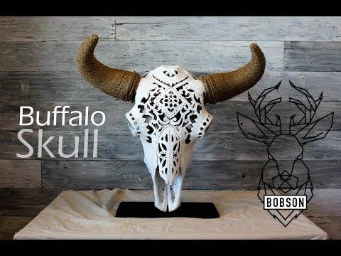 Animal Skull Carving