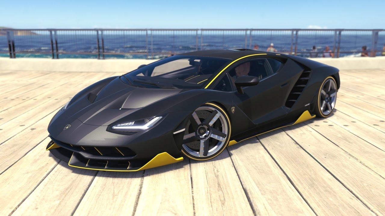 Forza Horizon 3 2016 Lamborghini Centenario Lp 770 4 Youtube